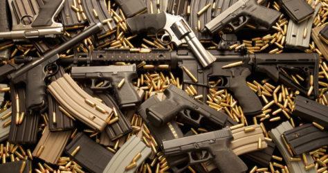 GUN HOMICIDES RISE 200%