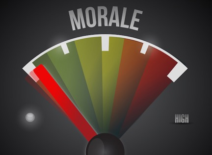 WHAT IS POLICE MORALE?