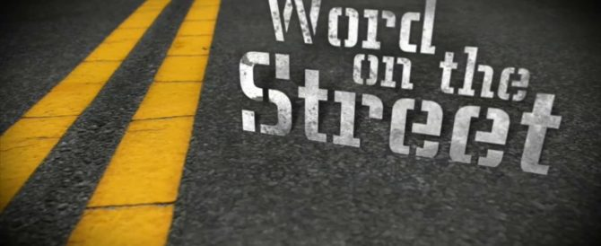 WORD ON THE STREET – FROM A COP - copfather.com